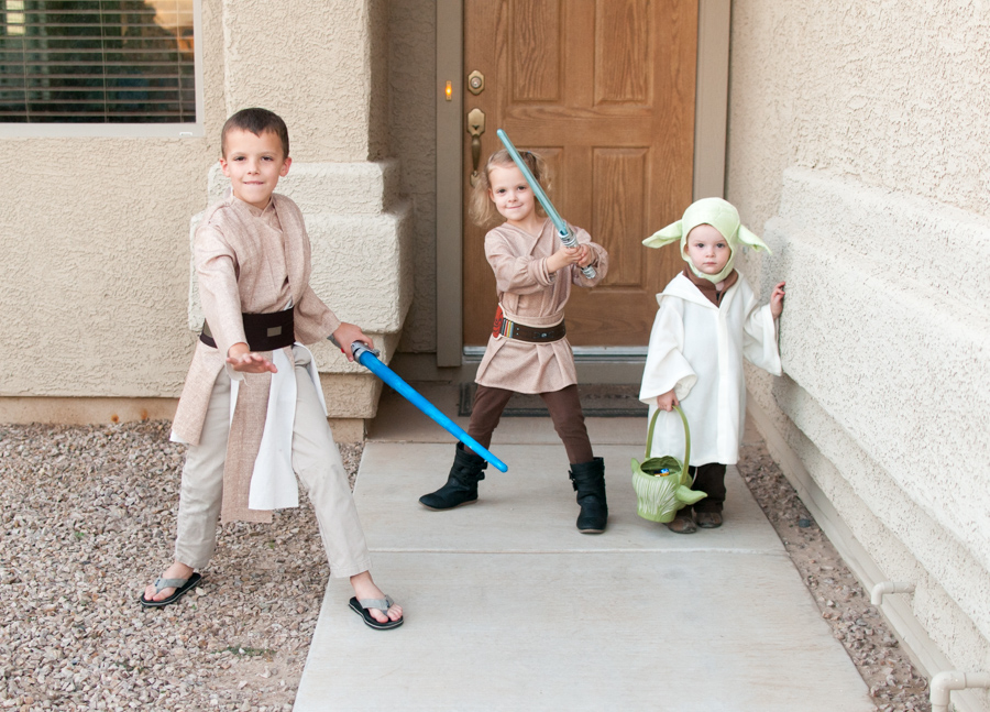 Star Wars Themed Family Costume