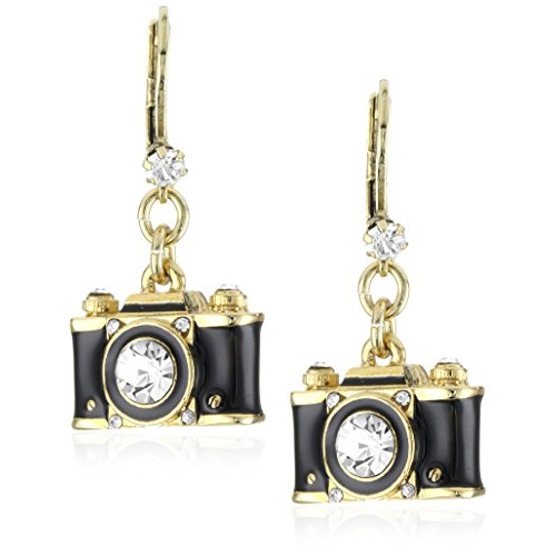 Black and Gold Dangly - Photographer Gifts