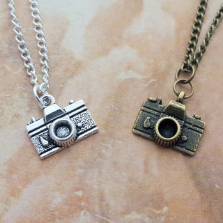 Camera Charm Necklace Photography Gifts