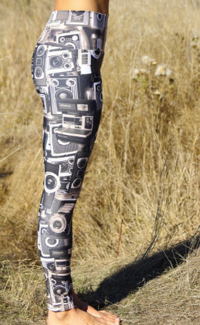 Camera Leggings - Gifts for Photographers