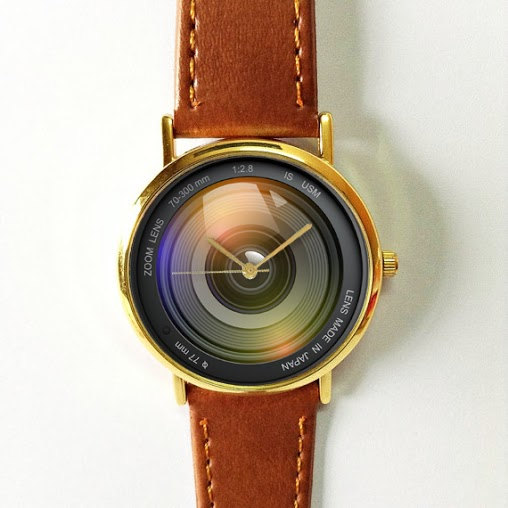 Camera Lens Watch - Gifts for Photographers