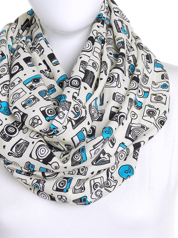 Camera Vintage Scarf - Gifts for Photographers