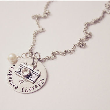 Exposure Therapy Necklace - Photographer Gift