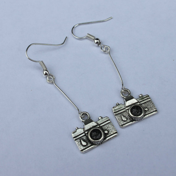 Long Dangly Earrings - Photographer Gifts