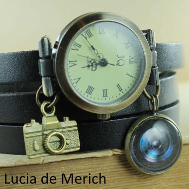 Wrap Leather Watch - Gifts for Photographers