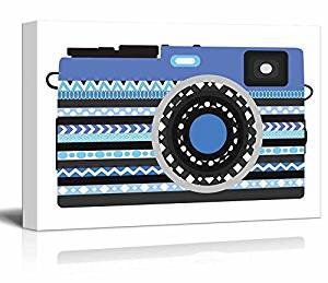 Modern Canvas Camera - Gifts for Photography Lovers