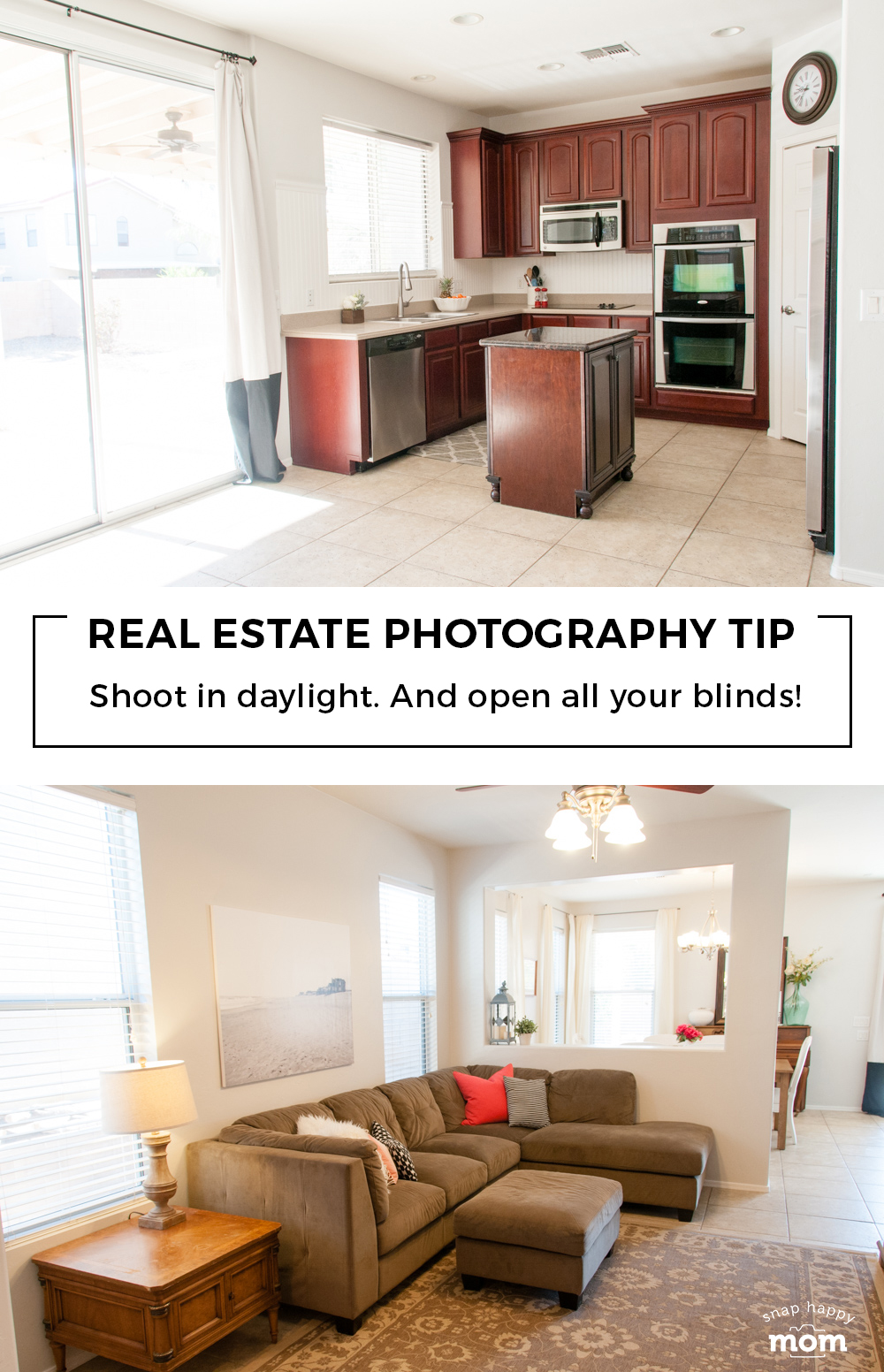 Real Estate Photography: Shoot in the daylight.