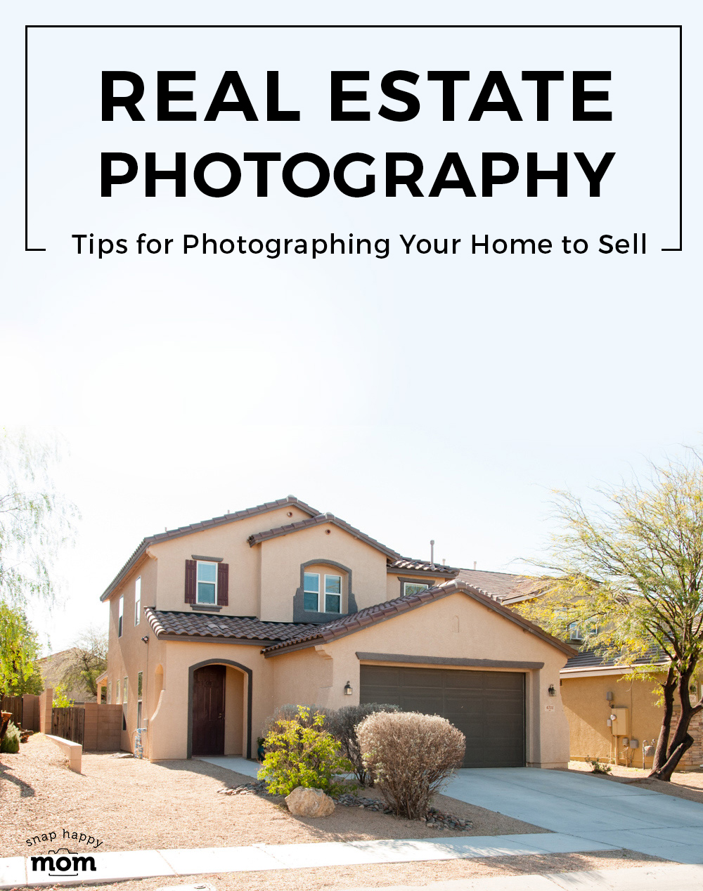 Real Estate Photography - How to take pictures of your own home exterior to get sell.