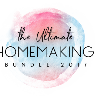 Ultimate Homemaking Bundle 2017 – and a super deal on a my photography course!