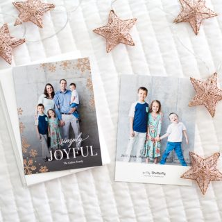 Our 2017 Christmas Cards – Get Them Ordered in Less Than An Hour With Shutterfly