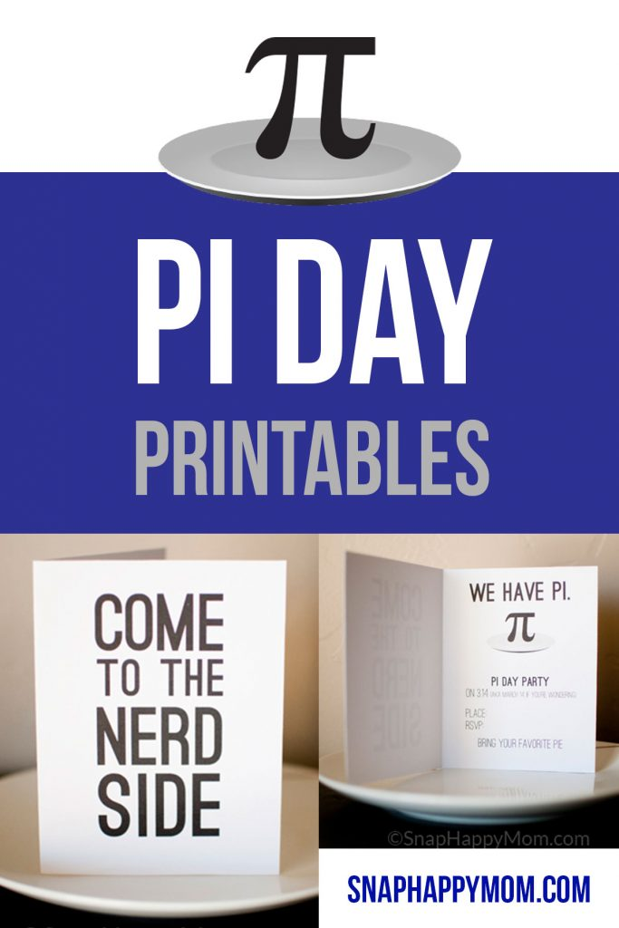 graphic regarding Pi Printable called Pi Working day Invites - Totally free Printable Obtain for Pie Functions